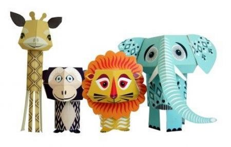 The wild bunch paper toys - hardtofind.