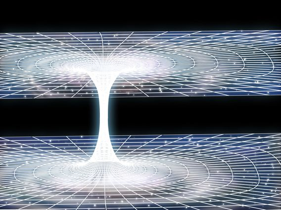 Cambridge Physicists Find Wormhole Proof.