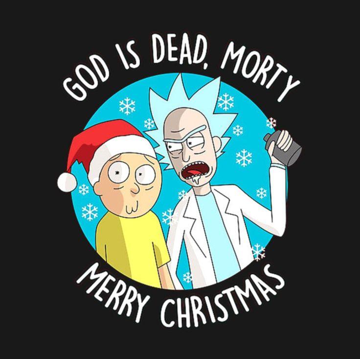 Rick and Morty x Merry Christmas