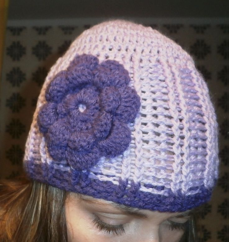purple beanie for every lady :-)