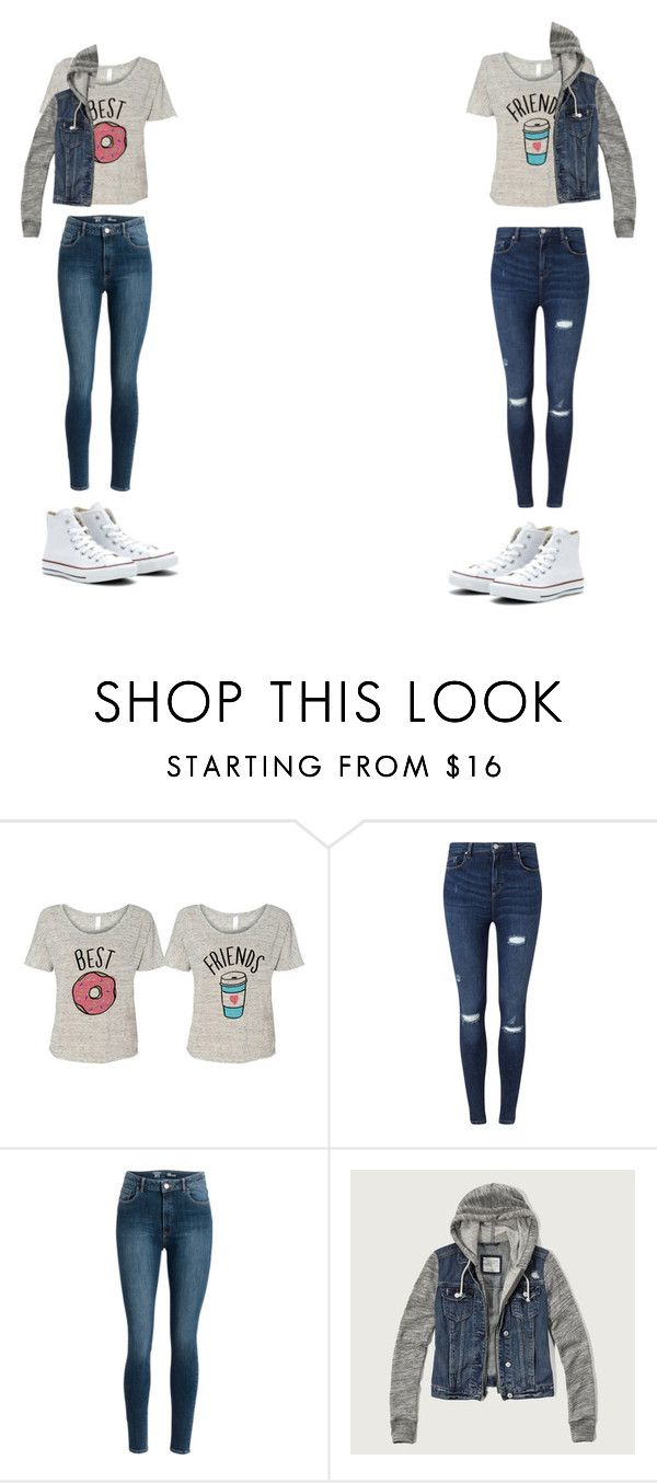 """""""beat friends uni outfit"""" by ampmahue on Polyvore featuring Miss Selfridge, Abercrombie & Fitch and Converse"""