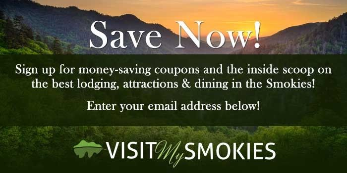 Coupons for attractions in the smokeys