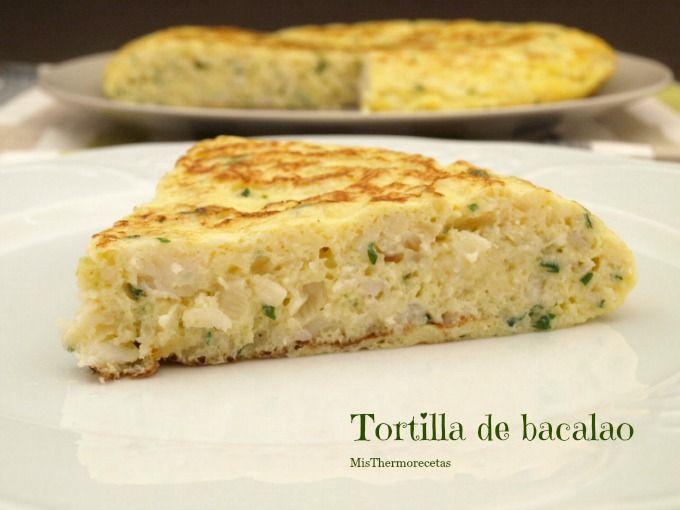 Tortilla de bacalao - MisThermorecetas