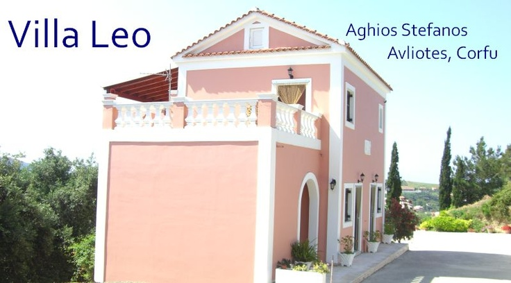 Self Catering Studios and Apartments in San Stefanos, Corfu Villa Leo