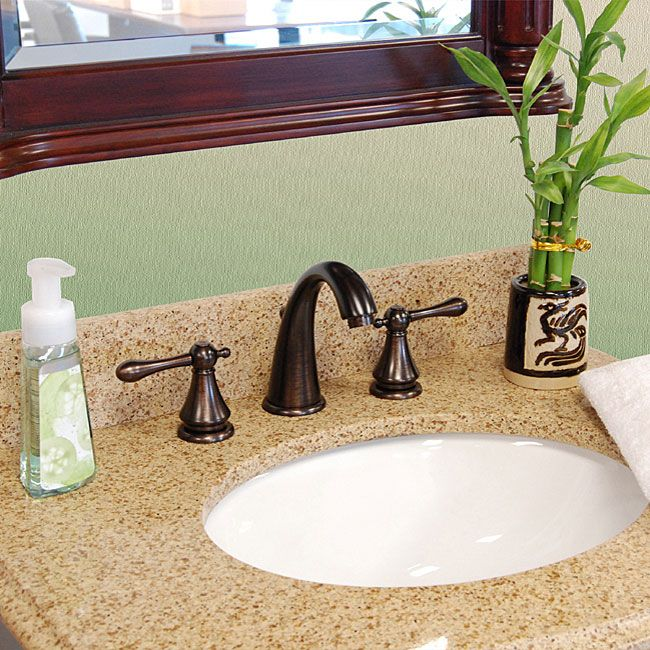 inch wide spread oil rubbed bronze bathroom faucet overstock