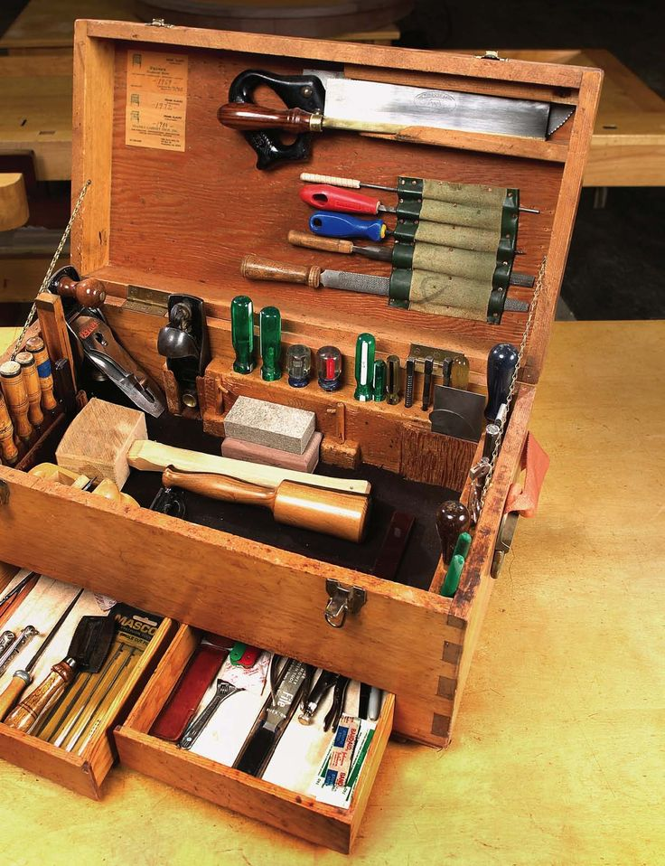 Review Frank Klausz s Tool Chest Unique - Style Of small woodworking ideas Luxury