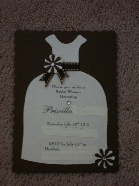 Diy Bridal Shower Invitations Bridal Shower Pinterest Bridal