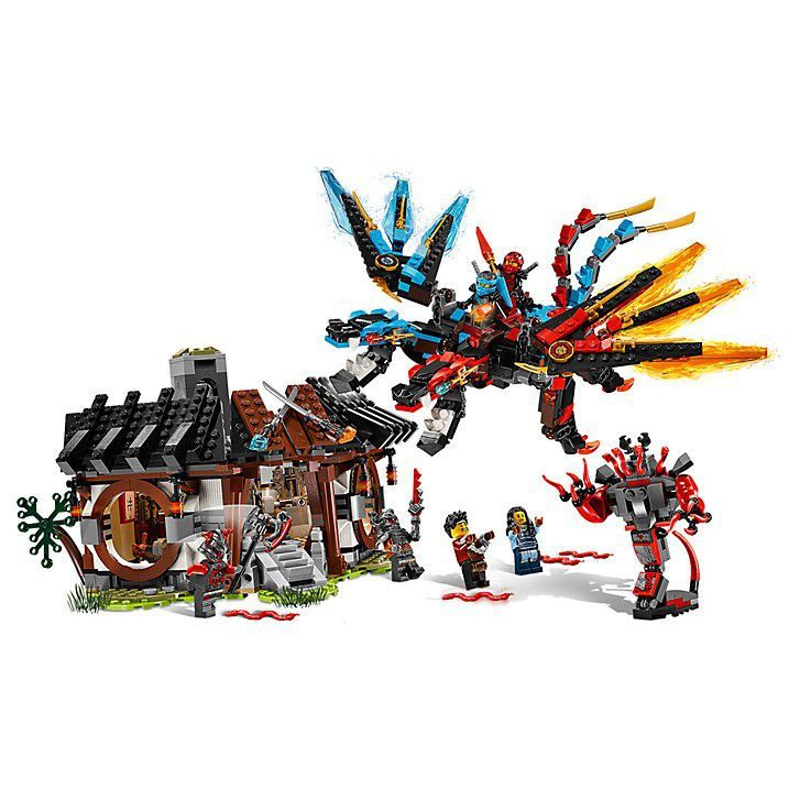 конструкция придаст набор лего кузница дракона рассказать