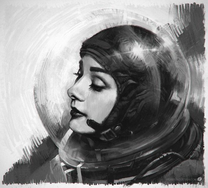 retro girl astronaut - photo #21