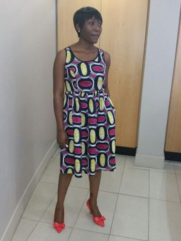 Blessing wearing an Afrodizzy dress