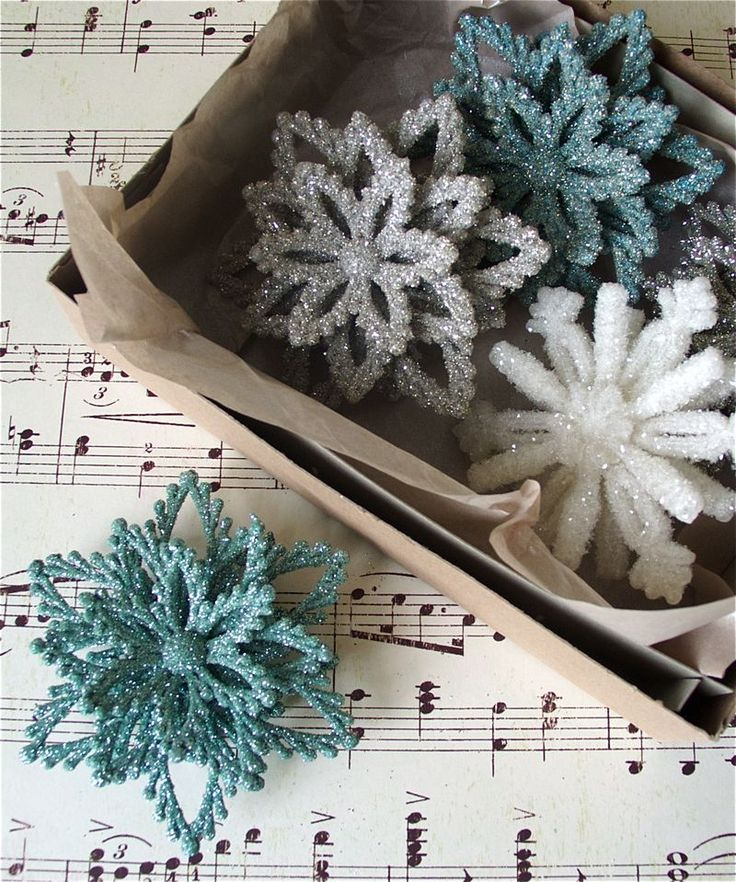 blogpost all about making cheap plastic ornaments look like a million bucks! Involves, glitter, flocking, & spray adhesive.