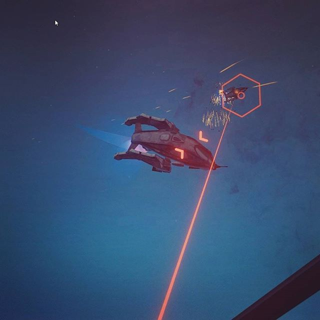Use your piloting skills in #VR to take on the Herati Vipers. #gaming #gamedev #growth #oculus #rift #htc #vive #virtualreality #scifi #flying #drones #screenshot