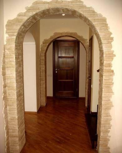 декоративная арка в квартире фото   Дизайн