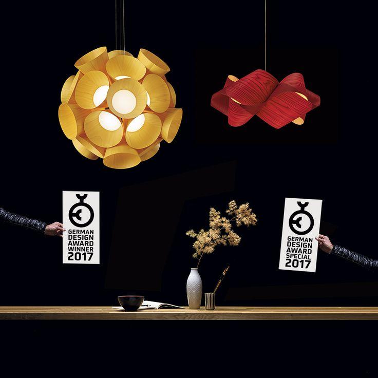 Στην RICHE είμαστε ενθουσιασμένοι με τον οίκο LZF για την βράβευση της. Πρόκειται για το Dandelion, ένα κρεμαστό φωτιστικό σχεδιασμένο από τον γερμανό Burkhard Dämmer και το Swirl από τον ιρλανδό Ray Power τα οποία βραβεύθηκαν με τα σημαντικά βραβεία German Design Awards 2017. Το Dandelion έχει ήδη ένα βραβείο, το Chicago Good Design Award.από το 2015.