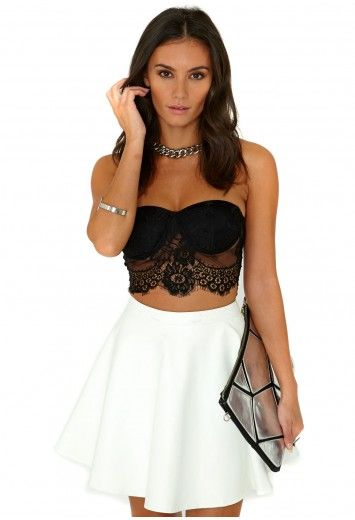 Missguided - Savannah Lace Bralet