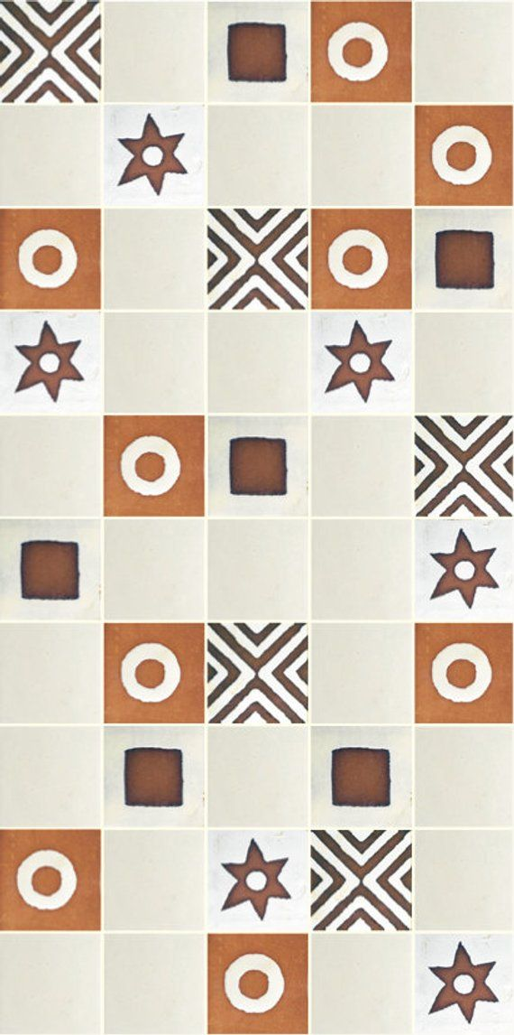 This Half Square Metre Of Handmade And Hand Painted Tiles Is A 100 Proudly Zimbabwean Product The Tiles Are 10cm X 1 Hand Painted Tiles Painting Ceramic Tiles