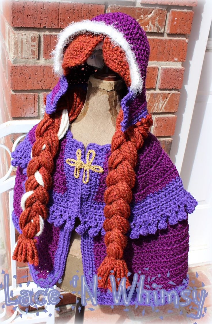 Best 25 crochet costumes ideas on pinterest crochet halloween lace and whimsy free crochet pattern frozen anna cape costume bankloansurffo Image collections