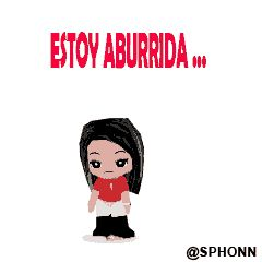 Estoy Aburrida Gif Animado Para BBM | BlackBerry, Android, iPhone, iPad