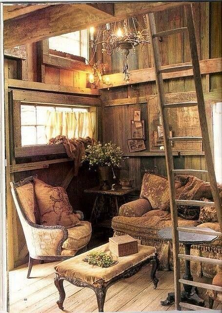 Best little house I've seen yet. Wide open, and cozy looking.