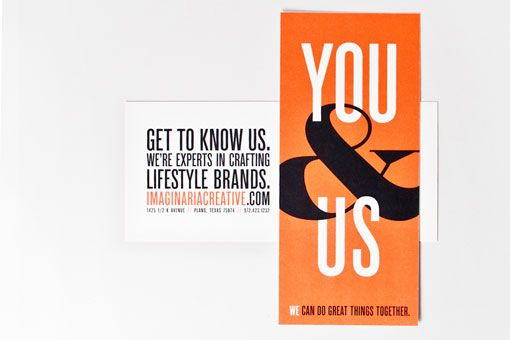 Imaginaria Creative: We, You & Us Promotional Campaign