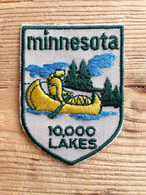 Minnesota Vintage Travel Patch by Voyager by HeydayRetroMart, $9.50