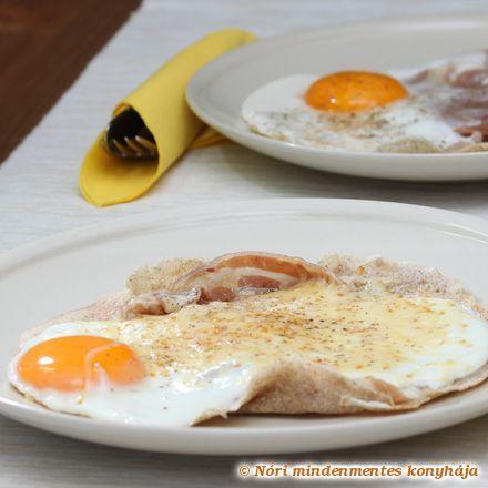 Nóri mindenmentes konyhája: Galette complète, avagy sós hajdinapalacsinta és az 57. VKF!