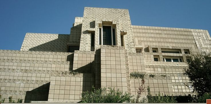 "Frank Lloyd Wright's famed and long-endangered Ennis House, which served as a location for films such as ""Blade Runne"