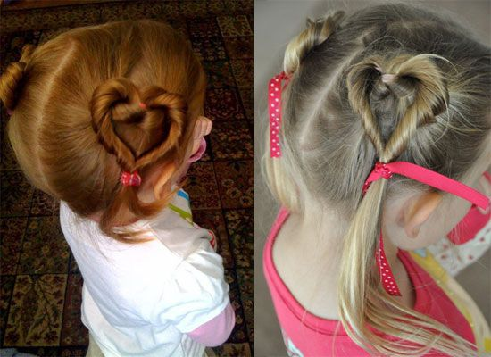 Cute Yet Amazing Valentine's Day Hairstyles & Ideas For Girls & Kids 2013 | Girlshue