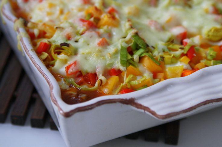 Krämig tacogratäng - Jennys Matblogg