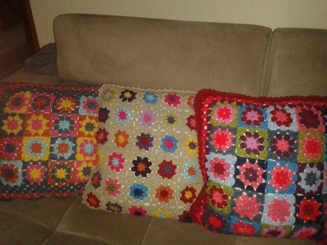 Renkli yastıklar...