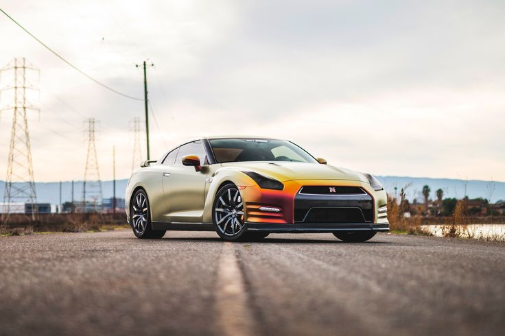 That Nissan GT-R is a stunna. Photo: Austin Lee Photography