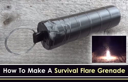 DIY Survival Flare Grenade - how to make a survival flare grenade that you can…