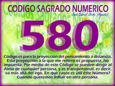 Voy a hacer un breve análisis del Código Sagrado Numérico 580. Este  Podría ponerles muchos ejemplos. Tal vez alguna mujer quiera  influ...