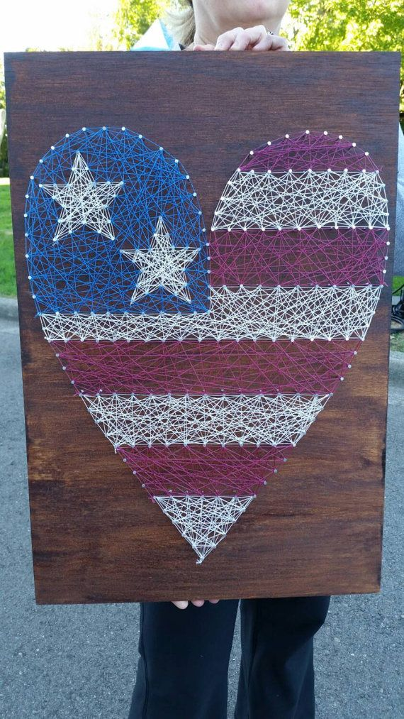 https://www.etsy.com/listing/208077407/patriotic-string-heart-on-rustic-wood