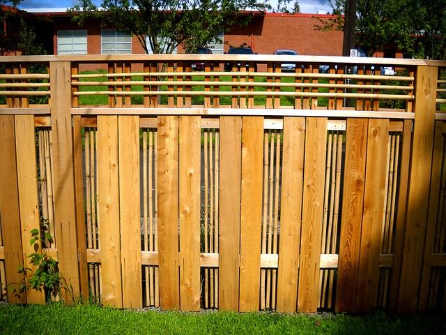 162 Best Images About Cedar Fence On Pinterest