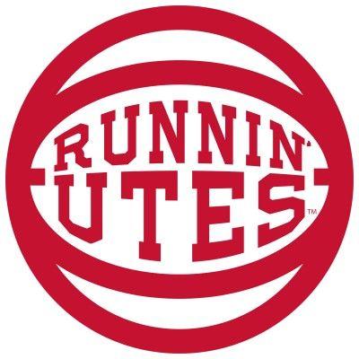 Runnin' Utes Basketball - Utah Utes Vinyl Sticker