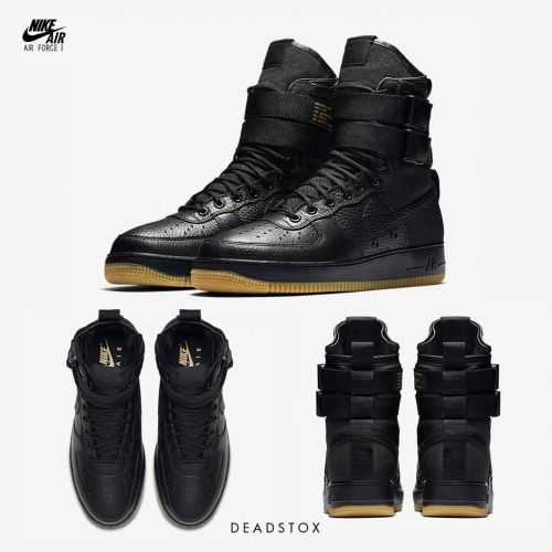 "http://SneakersCartel.com Cop or Drop?  Nike SF-AF 1 ""Black Gum""  Release... #sneakers #shoes #kicks #jordan #lebron #nba #nike #adidas #reebok #airjordan #sneakerhead #fashion #sneakerscartel http://www.sneakerscartel.com/cop-or-dropnike-sf-af-1-black-gumrelease/"