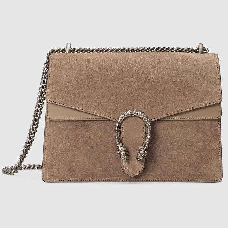 Gucci Dionysus Suede Shoulder Bag on ShopStyle