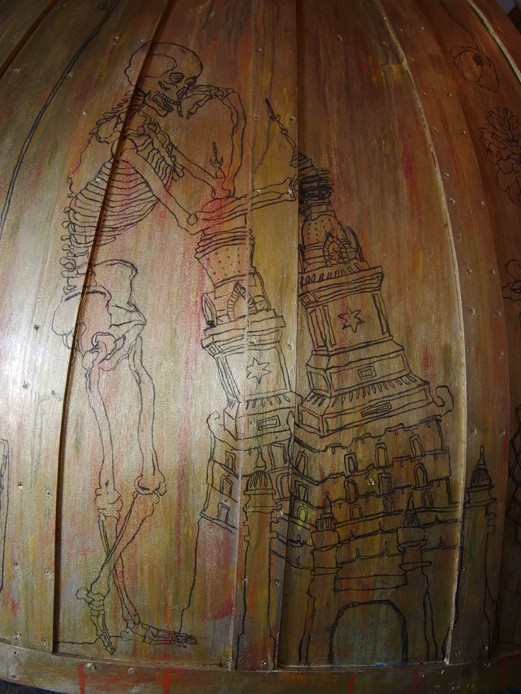"""Dome drawing """"Holy of Holies"""""""