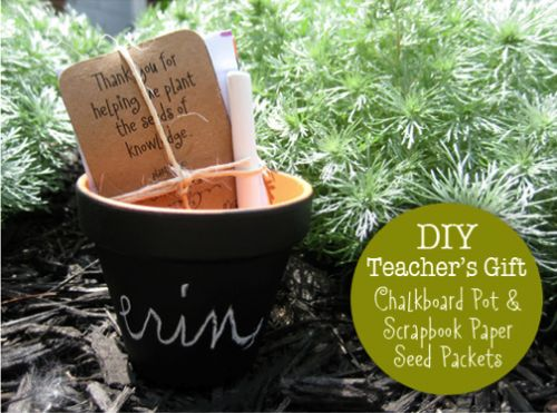 Flower pot crafts for teacher | ... Crafts for $2 or Less | Living Locurto - Free Party Printables, Crafts