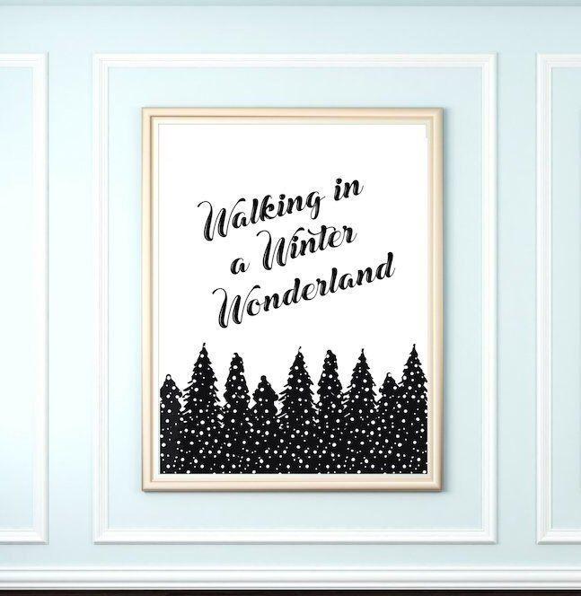Winter Wonderland Free Printable Yellowblissroad Com Winter Wonderland Birthday Winter Wonderland Decorations Winter Wonderland Theme