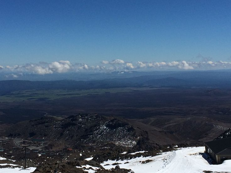 View From Mt. Raupehu, Tongariro National Park, NZ