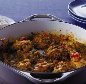 Curry met kip en cashewnoten recept | Smulweb.nl