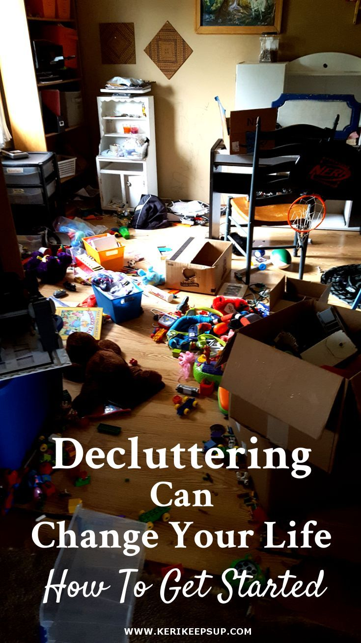 Decluttering Can Change Your Life: How To Get Started
