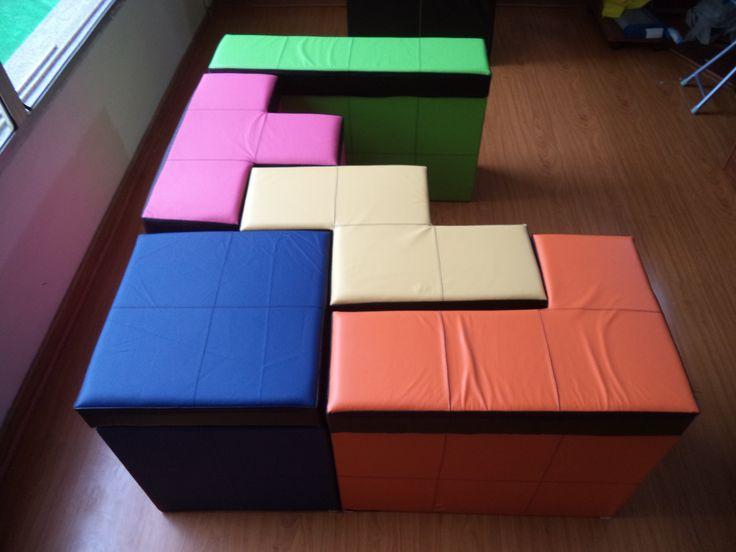 Tetris Living Room