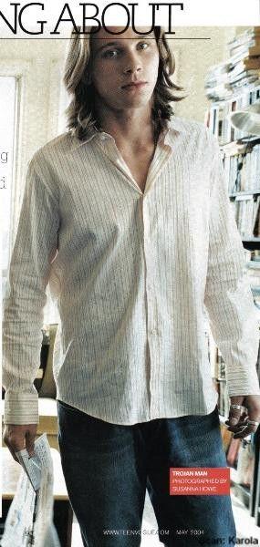 Garrett Hedlund como Patroclus. #GarrettHedlund #Patroclus #Troia #Troy #BradPitt