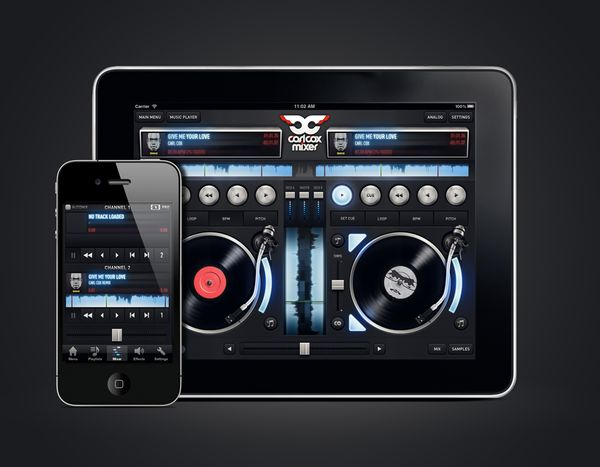 Carl Cox for iPad by Jonas Eriksson (@imjonas)