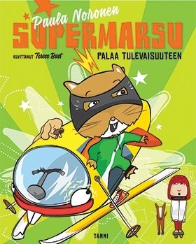 Suositun Supermarsu-lastenromaanisarjan seitsemännessä osassa Emilia Laitinen-Nieminen ja hänen kaverinsa Simo ovat taas vauhdissa.