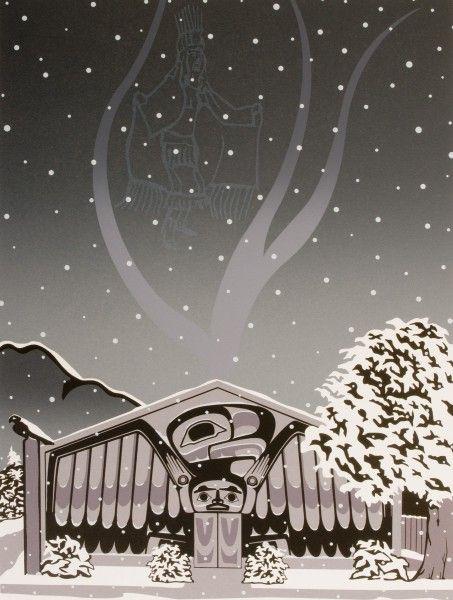 """Solstice 2001"" Roy Vickers, Tsimshian, Haida and Heiltsuk"