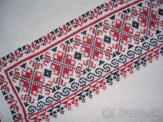 Cross stitch pattern (Slovakia)